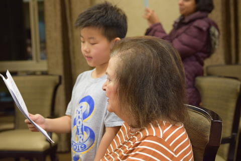 Singing with Sedgebook Residents - Photo #38