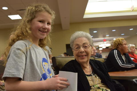 Singing with Sedgebook Residents - Photo #40