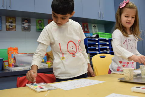 Celebrating 100 Days of Kindergarten - Photo #10