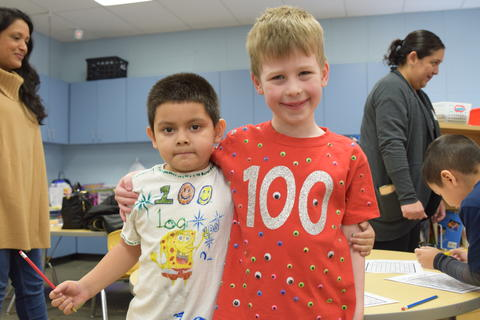 Celebrating 100 Days of Kindergarten - Photo #1