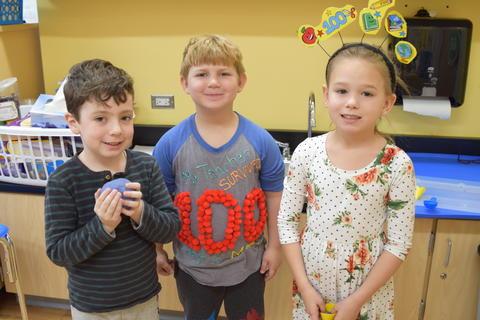 Celebrating 100 Days of Kindergarten - Photo #32