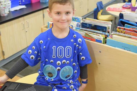Celebrating 100 Days of Kindergarten - Photo #36