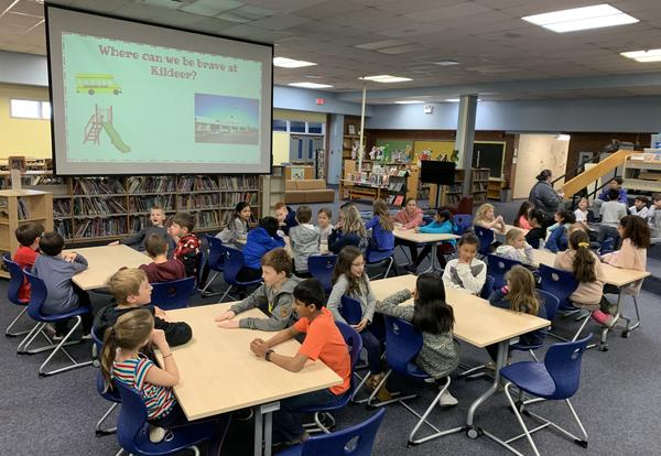 buddy classrooms and being brave