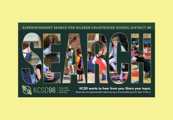 KCSD 96 Superintendent Search Survey closes Friday, Oct. 8, 2021.