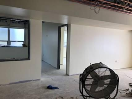 The remote office and main office are starting to take shape. It wont be long before students and visitors will be in these spaces.