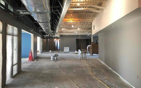The hallways on the second floor are finished painted.  Starting next week, the ceiling grid will be installed in the soffit on the left side of the picture.