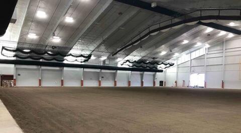 Athletic Field – Turf final grade installed.