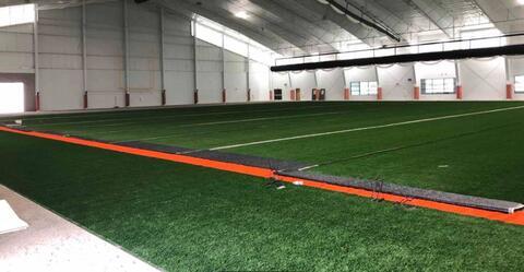 Athletic Field – Turf installation.