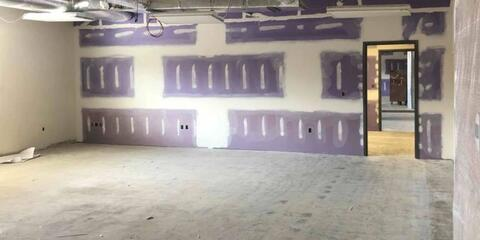Unit E – Drywall tape/finish.