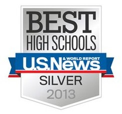 Best High Schools Silver Logo