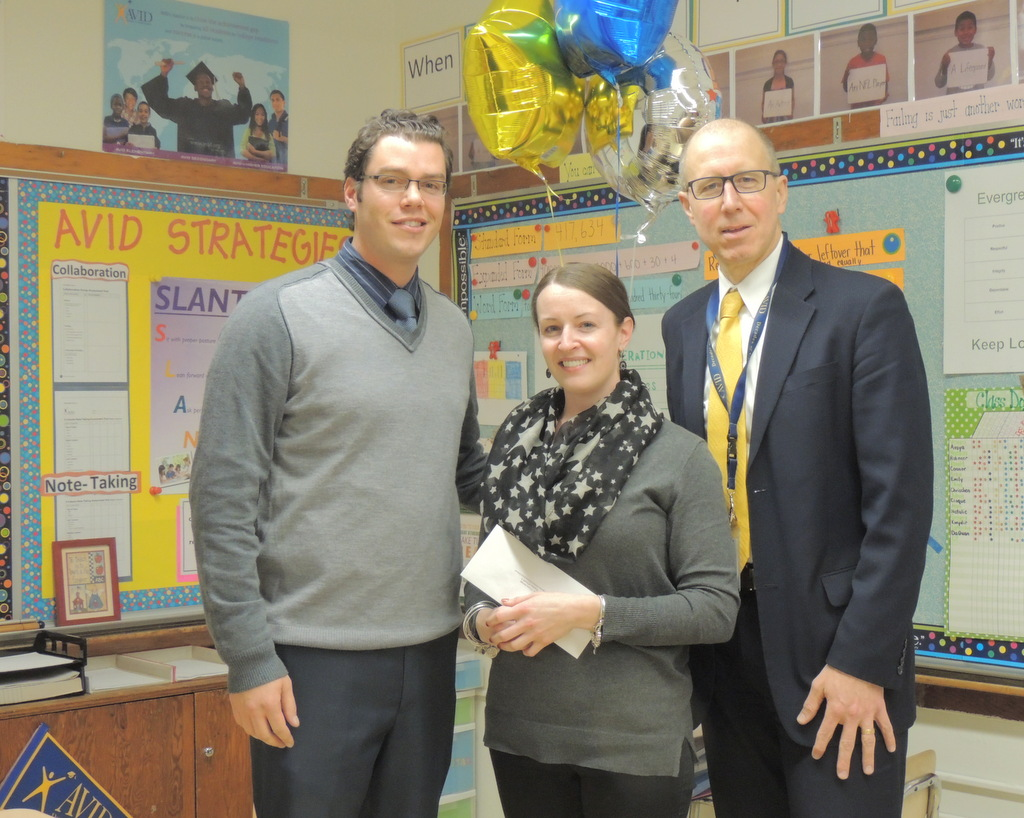 Teacher of the Year 2015 Ms. Trinna Savage