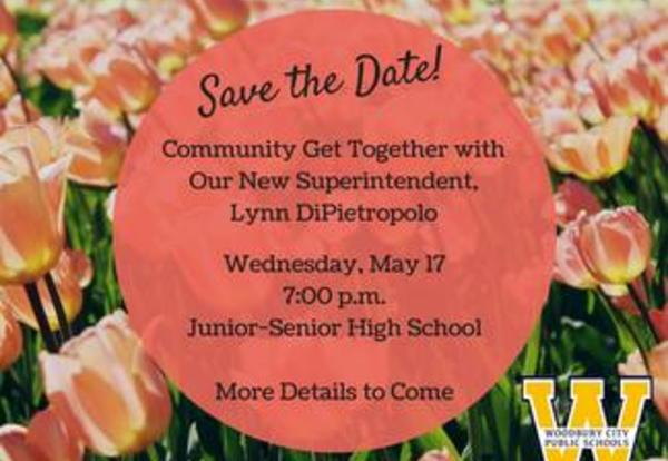 Community Get Together with New Superintendent Lynn DiPietropolo