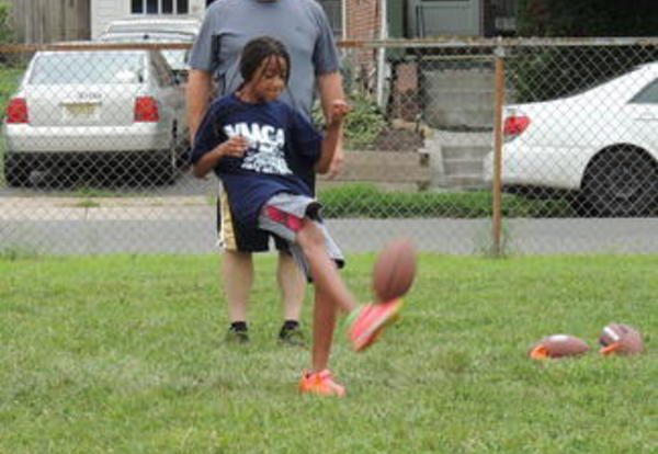 West End Elementary School Hosts the NFL Punt, Pass & Kick Competition