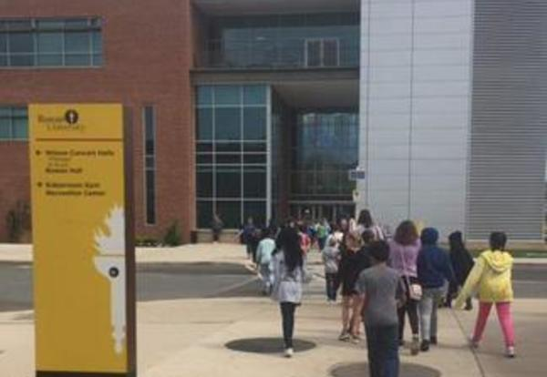 Fourth Grade Classes Visit Rowan University