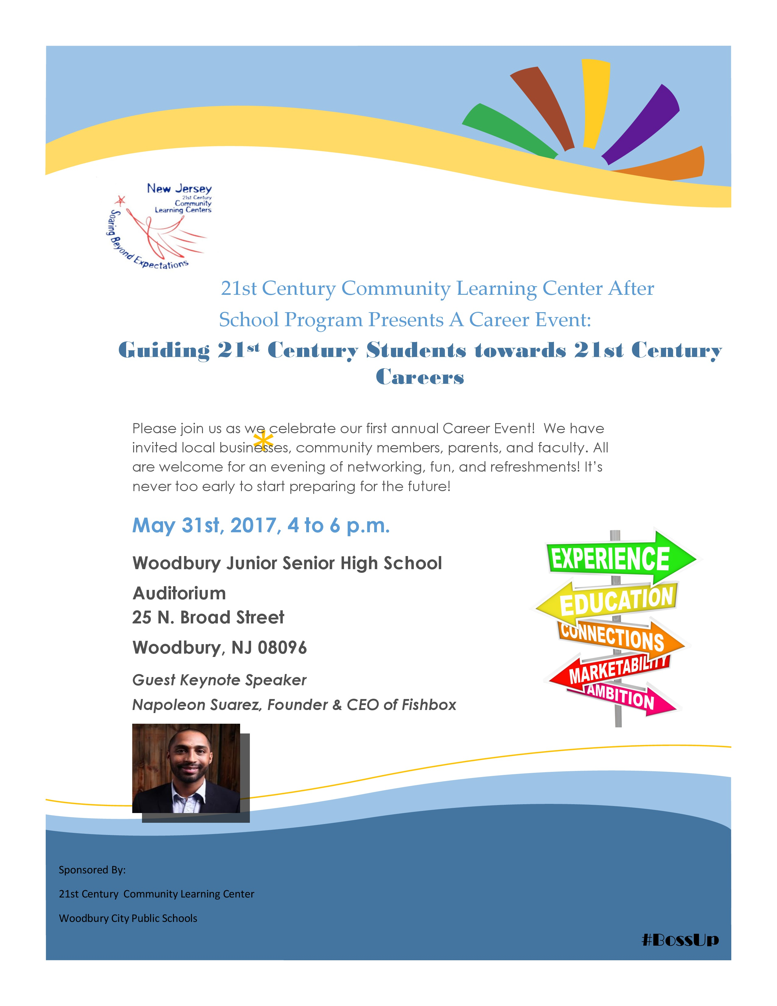 21st Century Career Event Flyer