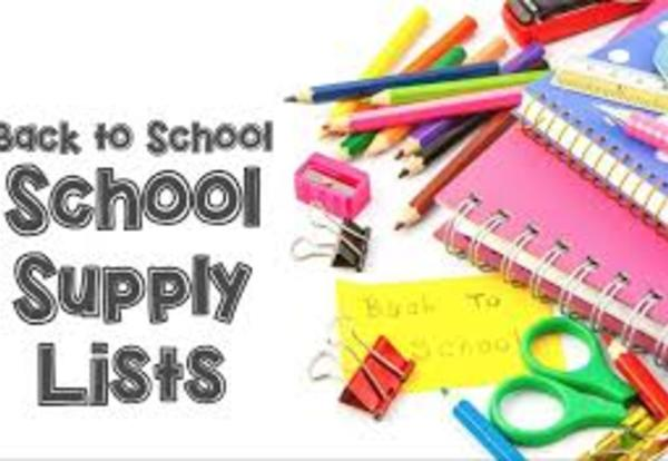 School Supply Lists & Online Ordering