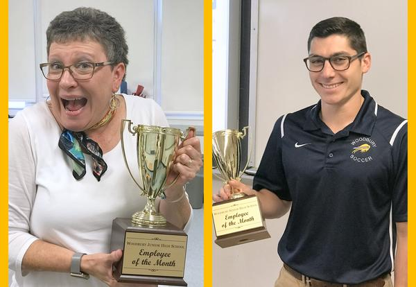 Junior-Senior High School Staff of the Month Named