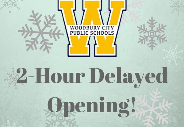 Two-Hour Delayed Opening on January 9