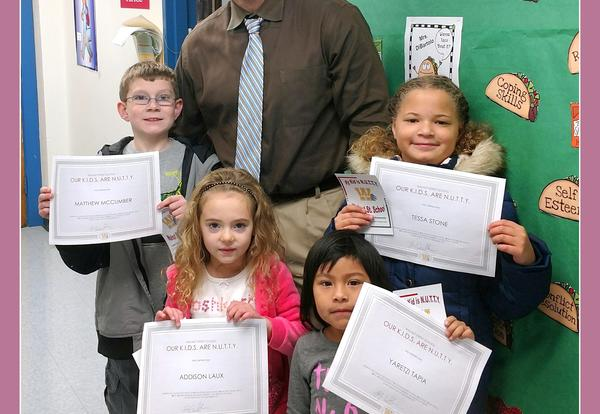 N.U.T.T.Y Students Announced at Walnut Street School