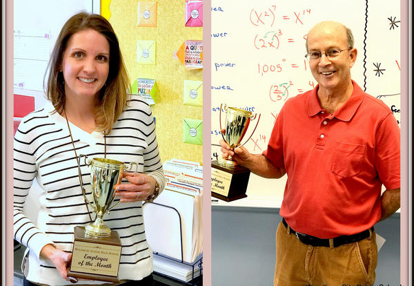 January Staff of the Month Announced at the Junior-Senior High School