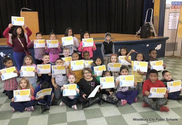 WEBSTER Winners at West End Memorial School