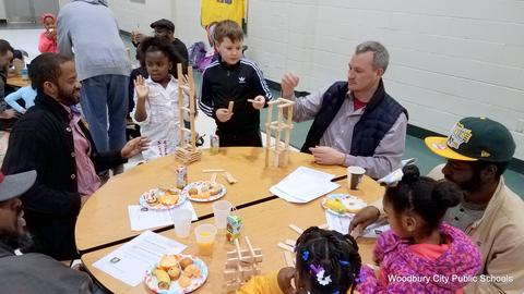 Evergreen Avenue Hosts Fathers Breakfast image for 20180215_080326