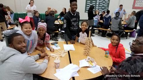Evergreen Avenue Hosts Fathers Breakfast image for 20180215_080347