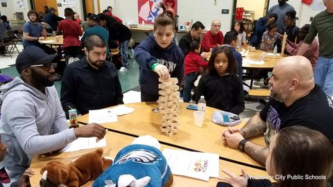 Evergreen Avenue Hosts Fathers Breakfast image for 20180215_081140