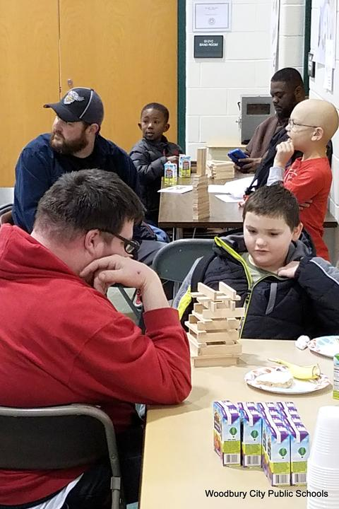 Evergreen Avenue Hosts Fathers Breakfast image for 20180215_081304