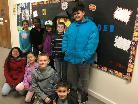 Walnut Street Students Reach Their 25 Book Goal image for 28870165_1612016495559761_7762837729561875331_n