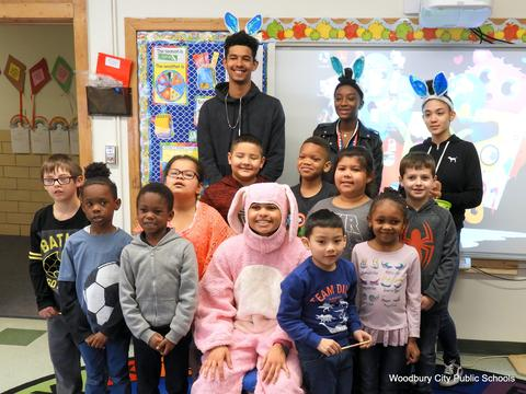 Easter Bunny Visits Elementary Schools-4