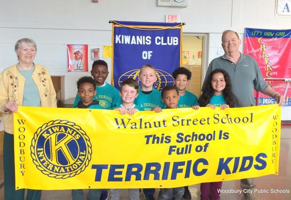 Walnut Street Terrific Students for April 2018