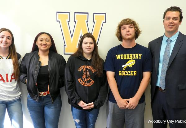 April's Students of the Month at WHS