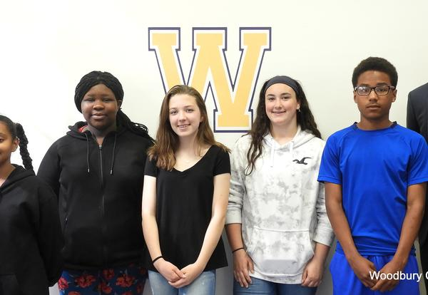 Junior High Students of the Month for April