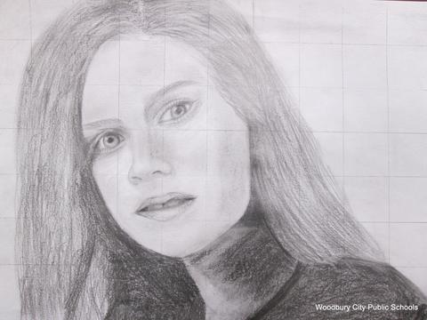 """Amy Adams"" drawn by Karina Kofman"