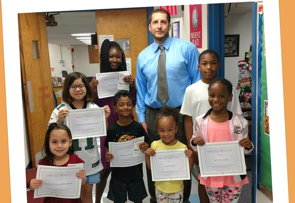 Walnut Street School New N.U.T.T.Y.  Students