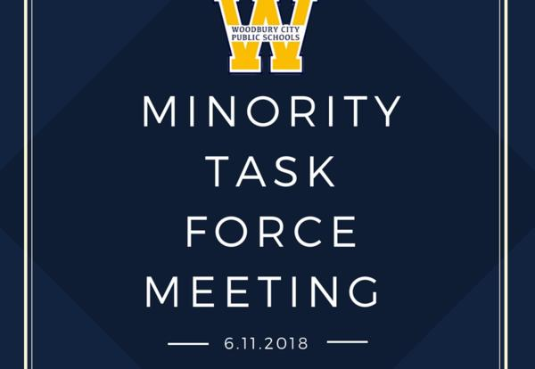 Last Minority Task Force Meeting of the School Year on June 11