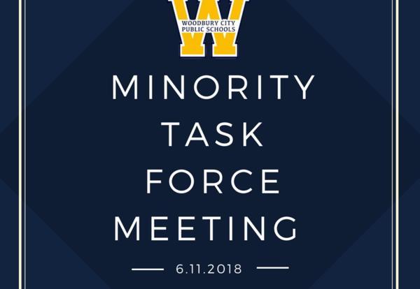 Last Minority Task Force Meeting of the School Year on June 11