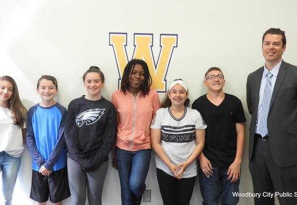 May Junior High Students of the Month
