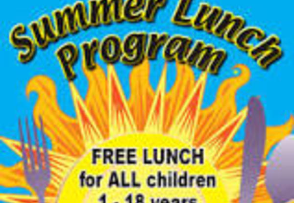 Free, Summer Lunch Program July 2-August 2