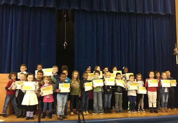 October WEBSTER winners