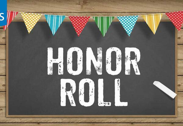 SHS Honor Roll 2nd MP