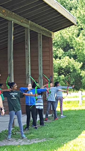 Camp MacLean archery