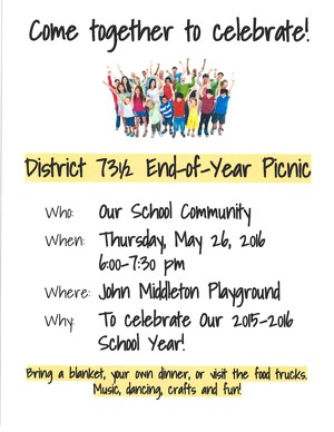 District End of Year Flyer