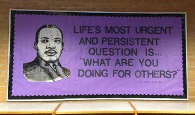 Martin Luther King Billboard