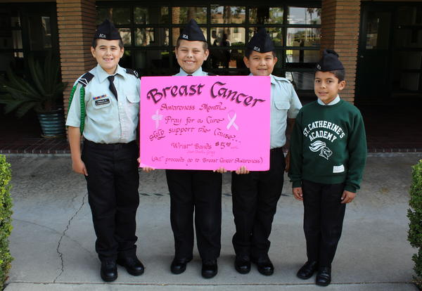 St. Catherine's Cadets Pray for a Cure