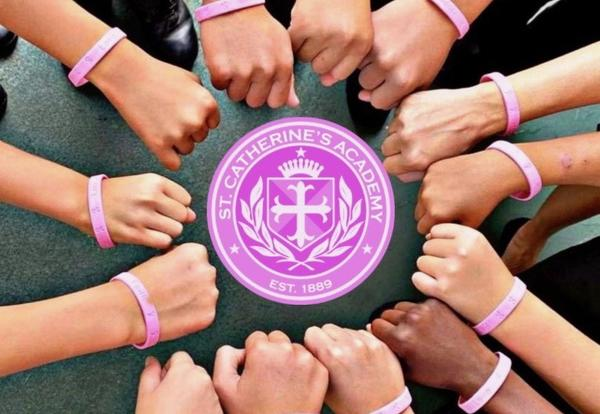 St. Catherine's Academy joins the fight against breast cancer