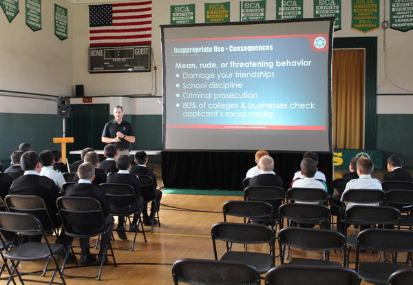 St. Catherine's Empowers Students and Parents to Face the Safety Challenges in our Digital World