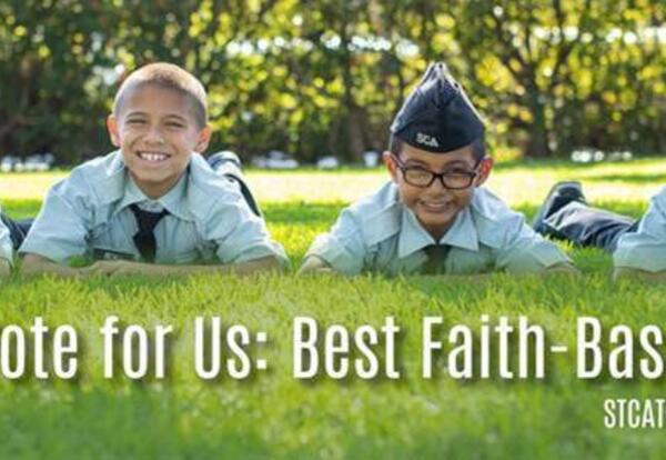 Vote Now: SCA Up For Best Faith-Based School