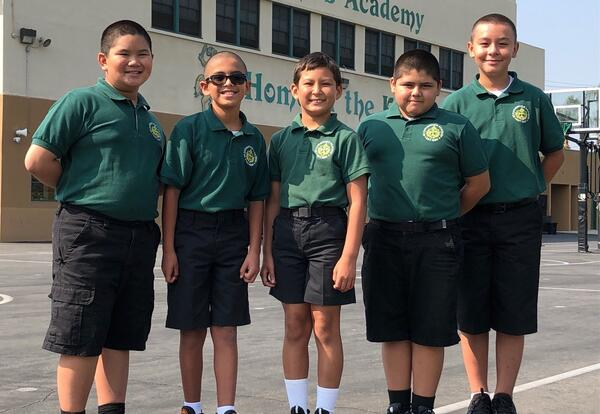 St. Catherine's Academy Welcomes Students to 2021-2022 Academic School Year